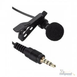 Microfone Lapela Celular Smartphone Youtuber Lapela Tomate